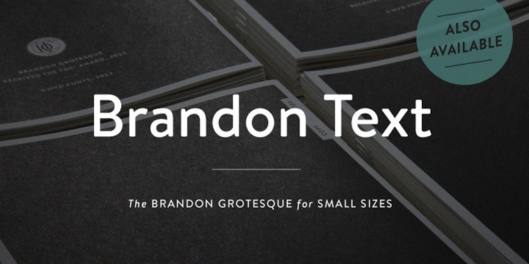 Brandon Grotesque Beautiful Sample