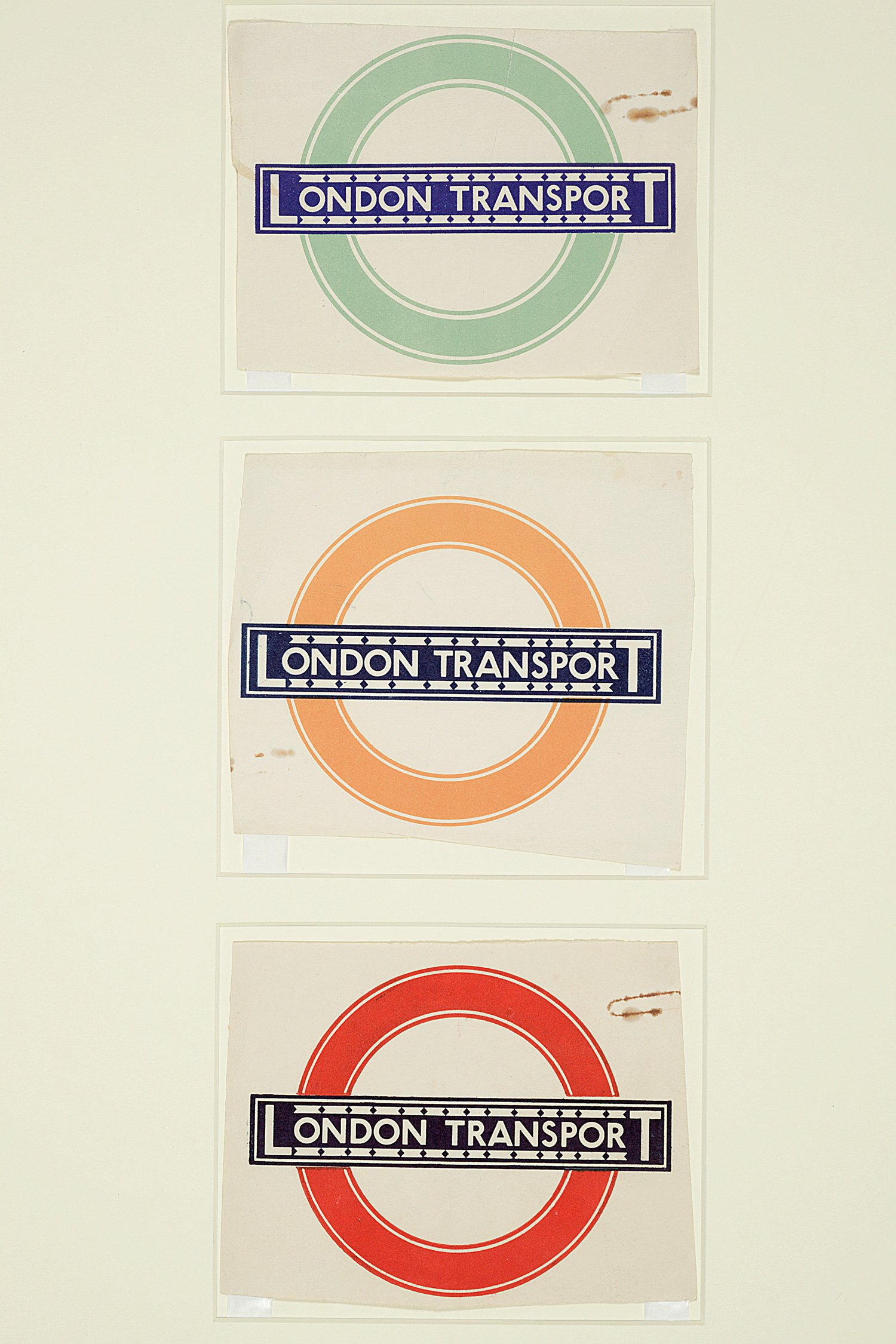 London Underground's iconic Johnston Sans typeface