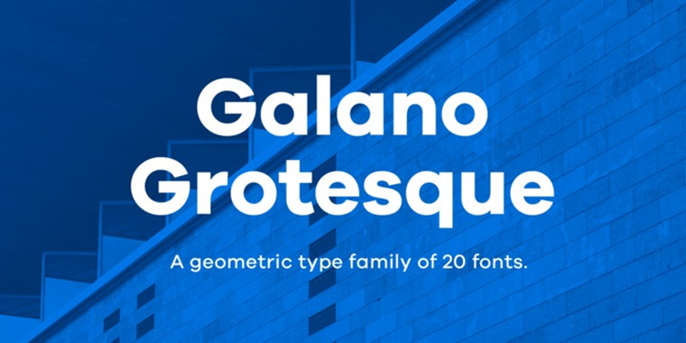 Galano Grotesque Beautiful Sample
